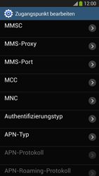 Samsung SM-G3815 Galaxy Express 2 - Internet und Datenroaming - Manuelle Konfiguration - Schritt 13