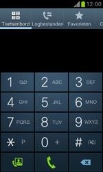 Samsung S7560 Galaxy Trend - Voicemail - Handmatig instellen - Stap 4