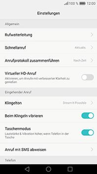Huawei P9 Plus - Anrufe - Rufumleitungen setzen und löschen - Schritt 6