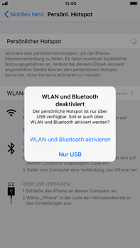 Apple iPhone 7 Plus - Internet - Mobilen WLAN-Hotspot einrichten - 9 / 10