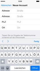Apple iPhone 5S mit iOS 8 - Apps - Konto anlegen und einrichten - Schritt 33