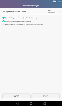 Huawei MediaPad T1 (7.0) - E-Mail - Konto einrichten (yahoo) - Schritt 7