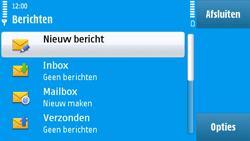 Nokia N97 - SMS - handmatig instellen - Stap 4