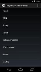 LG D821 Google Nexus 5 - Internet - handmatig instellen - Stap 10