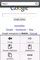 HTC A6262 Hero - internet - hoe te internetten - stap 5