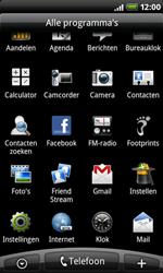 HTC A8181 Desire - Internet - internetten - Stap 2