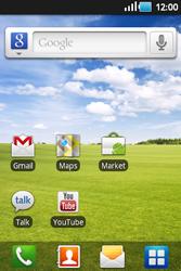 Samsung S5660 Galaxy Gio - E-mail - E-mails verzenden - Stap 1