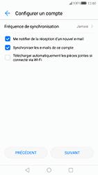 Huawei P10 - E-mail - 032c. Email wizard - Outlook - Étape 9