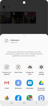 Samsung Galaxy Note 10 Lite - Photos, vidéos, musique - Envoyer une photo via Bluetooth - Étape 11