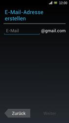 Sony Ericsson Xperia Ray mit OS 4 ICS - Apps - Konto anlegen und einrichten - Schritt 6