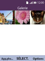Alcatel 3088X - Photos, vidéos, musique - Envoyer une photo via Bluetooth - Étape 4