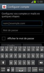 Samsung I8260 Galaxy Core - E-mail - Configuration manuelle - Étape 5