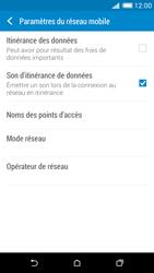 HTC Desire 816 - Aller plus loin - Désactiver les données à l'étranger - Étape 6