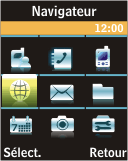 Samsung J700 - Internet - Navigation sur Internet - Étape 2