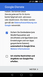 Huawei Honor 8 - Apps - Konto anlegen und einrichten - 0 / 0