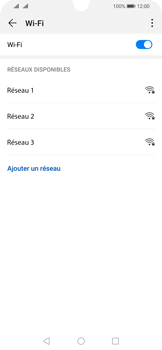 Huawei P Smart (2019) - Wifi - configuration manuelle - Étape 5