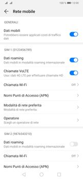 Huawei P30 Pro - Internet e roaming dati - Disattivazione del roaming dati - Fase 5