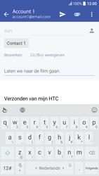 HTC HTC 10 - E-mail - E-mails verzenden - Stap 9