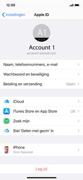 Apple iphone-x-met-ios-13-model-a1901 - Beveiliging en ouderlijk toezicht - Zoek mijn iPhone inschakelen - Stap 9