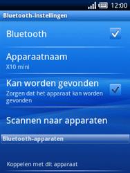 Sony Ericsson Xperia X10 Mini Pro - Bluetooth - headset, carkit verbinding - Stap 6