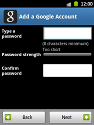 Samsung Galaxy Pocket - Applications - Setting up the application store - Step 9
