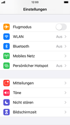 Apple iPhone SE - iOS 13 - Ausland - Auslandskosten vermeiden - Schritt 5