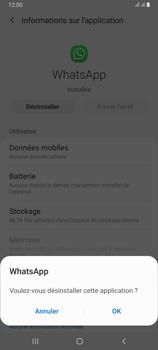 Samsung Galaxy A80 - Applications - Supprimer une application - Étape 7