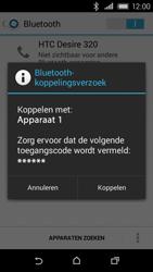 HTC Desire 320 - Bluetooth - Koppelen met ander apparaat - Stap 7