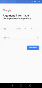 Huawei P20 lite - apps - account instellen - stap 6