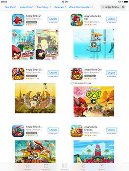 Apple iPad Mini 4 - iOS 10 - Apps - Herunterladen - Schritt 10