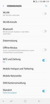 Samsung Galaxy J4+ - Ausland - Auslandskosten vermeiden - 7 / 9
