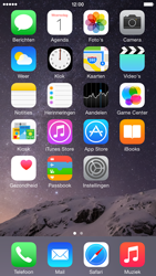 Apple iPhone 6 iOS 8 - SMS - handmatig instellen - Stap 1