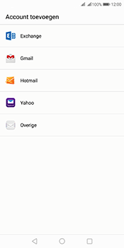 Huawei Mate 10 Pro Dual-SIM (Model BLA-L29) - E-mail - Account instellen (POP3 zonder SMTP-verificatie) - Stap 4