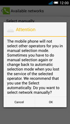 Alcatel One Touch Idol Mini - Network - Manual network selection - Step 10