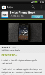 HTC One SV - Applications - Installing applications - Step 7