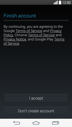 LG G3 - Applications - Setting up the application store - Step 14