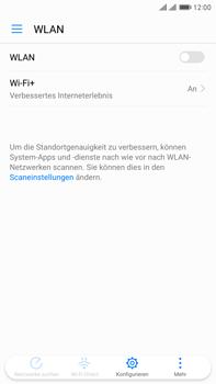 Huawei Mate 9 Pro - WLAN - Manuelle Konfiguration - Schritt 4