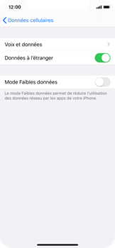 Apple iPhone 11 Pro - Internet - Désactiver du roaming de données - Étape 5