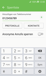 Samsung Galaxy Xcover 3 VE - Anrufe - Anrufe blockieren - 0 / 0