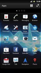 Sony Xperia S - Apps - Einrichten des App Stores - Schritt 3