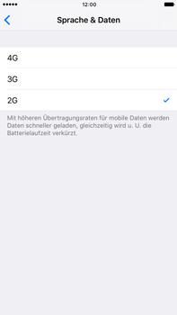 Apple iPhone 7 Plus - Netzwerk - Netzwerkeinstellungen ändern - 0 / 0