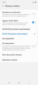 Samsung Galaxy A71 - Internet et connexion - Activer la 4G - Étape 7