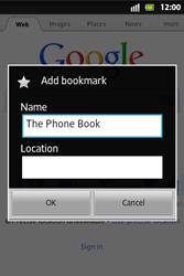 Sony ST27i Xperia Go - Internet - Internet browsing - Step 9