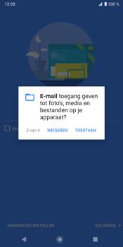 Sony Xperia XZ3 - E-mail - Handmatig instellen (outlook) - Stap 12