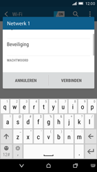 HTC One M9 - WiFi - Handmatig instellen - Stap 8