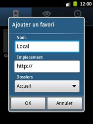 Samsung Galaxy Pocket - Internet et roaming de données - Navigation sur Internet - Étape 9
