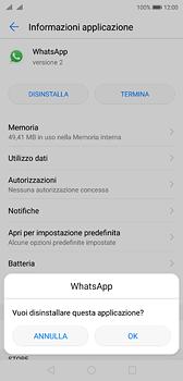 Huawei P20 - Applicazioni - Come disinstallare un