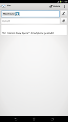 Sony Xperia Z Ultra LTE - E-Mail - E-Mail versenden - 8 / 16