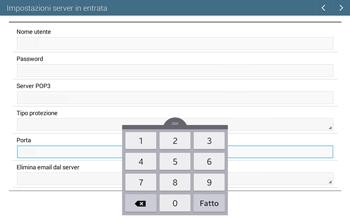Samsung T535 Galaxy Tab 4 10.1 - E-mail - configurazione manuale - Fase 10