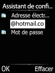 Doro 6620 - E-mails - Ajouter ou modifier votre compte Outlook - Étape 11